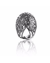 Sonal Bhaskaran | Black Shikhara Ruthenium Dome Ring Spinel | Lyst