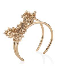 Noritamy - Metallic Gold Bismuth Bangle - Lyst