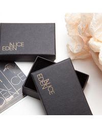 Alice Eden - Metallic Gold Deco Initial T Pendant Necklace - Lyst