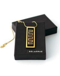 Delacruz - Metallic Snake Gold - Lyst
