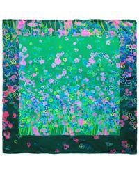 Unpaired | Rain Green Ladies Square Scarf | Lyst