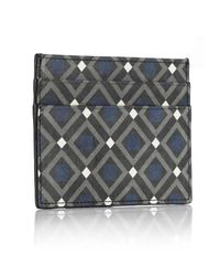 Mark Giusti - Blue All You Need Nappa Card Holder Venice Print & Navy for Men - Lyst