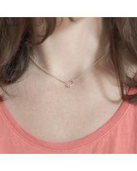Agnes De Verneuil - Metallic Silver Choker Necklace Small Bells - Lyst