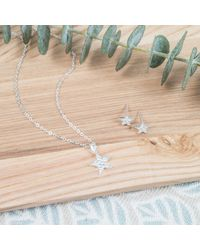 Auree Jewellery - Metallic Karakoy Sterling Silver Star Necklace - Lyst