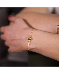 Ternary London - Metallic Ternary Timeless Gold Chain Bracelet - Lyst