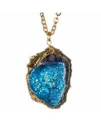 Tiana Jewel | Sophia Blue Necklace Zahara Collection | Lyst