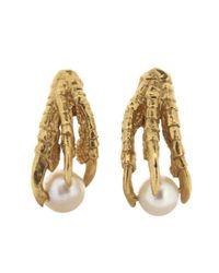 Tessa Metcalfe - Metallic Gold Pearl Of London Earrings - Lyst