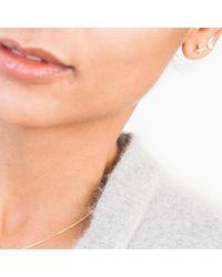 Enelle | Metallic Cross Hatch Earring | Lyst