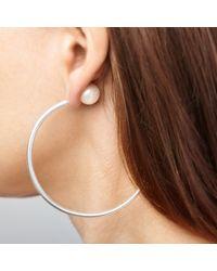 Ecrannium - Metallic Dragon's Tail Earring - Lyst