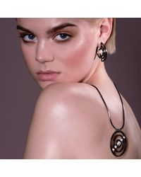 Cara Tonkin - Metallic Orbit Solaris Earrings Rose Gold - Lyst