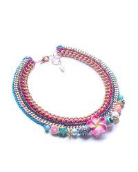 Miss High & Low - Multicolor Bora Bora Necklace - Lyst