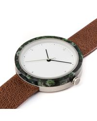Flint Watches - Aravalli Marble Jasper Brown Strap - Lyst
