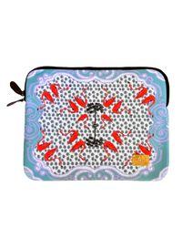 Jessica Russell Flint | Multicolor Flamingo Pop Laptop Bag With Velvet Lining | Lyst