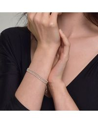 Cara Tonkin | Metallic Theda Pharon Skinny Bracelet Silver | Lyst