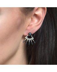 Cara Tonkin - Metallic Theda Cleo Ear Jacket Silver - Lyst