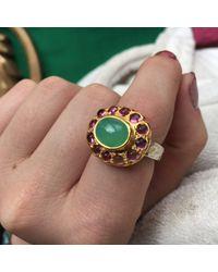 Emma Chapman Jewels | Green Bellina Chrysoprase Ring | Lyst
