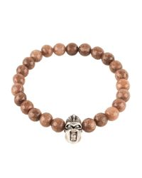 LÁTELITA London | Warrior Bracelet Sterling Silver Brown Agate | Lyst