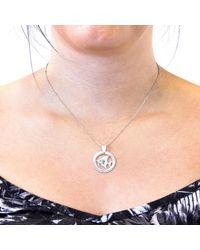 Anchor & Crew - Metallic Angel Fish Disc Paradise Silver Necklace Pendant - Lyst