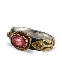 Emma Chapman Jewels - Multicolor Pink Sapphire & Diamond Treasure Gold Ring - Lyst