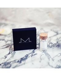 Matthew Calvin - Metallic Small Cut Off Studs Silver - Lyst