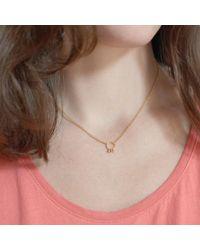Agnes De Verneuil | Metallic Gold Choker Necklace Small Bells | Lyst