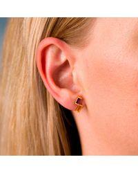 Nancy Rose Jewellery - Multicolor Amethyst & Citrine Ingot Earrings In Gold - Lyst