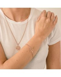Hoochie Mama - Metallic Mama Rose Gold Bracelet - Lyst