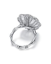 JAMES GANH - Pendant Ring White - Lyst
