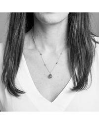 Auree Jewellery - Metallic Isla Labradorite & Gold Necklace - Lyst