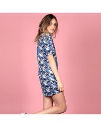 McIndoe Design - Blue Whale Print Dress - Lyst