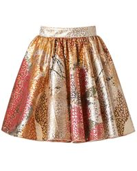 Supersweet x Moumi - Red Leopard Bop Skirt - Lyst