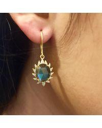 Meghna Jewels - Blue Labradorite & Diamonds - Lyst