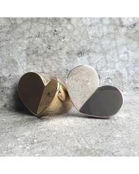 Sabre | Metallic Corazon Ring Rose Gold | Lyst