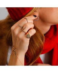 Sadekar Jewellery - Multicolor Open Gear Ring - Lyst