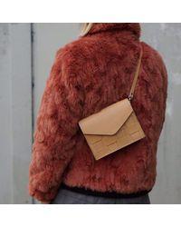 Eduards Accessories Sweden - Multicolor Näver Mini Shoulder Bag In Nature Leather - Lyst