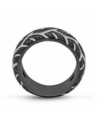 LMJ - Metallic American Muscle Band Ring - Lyst