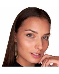 Vitae Ascendere - Metallic Tear Drop Gold Earrings - Lyst