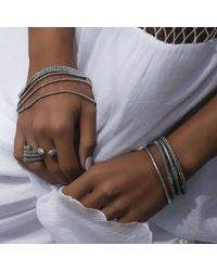 Durrah Jewelry - Metallic Silver Dream Bracelet - Lyst