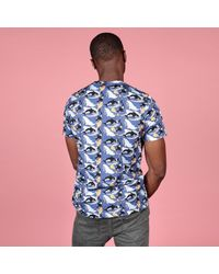 McIndoe Design - Blue Whale T-shirt for Men - Lyst