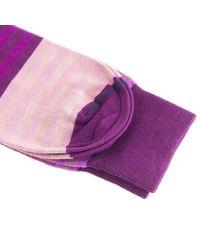 40 Colori - Purple Gradient Striped Organic Cotton Socks for Men - Lyst