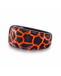LMJ   Multicolor Earth & Fire Band Ring   Lyst