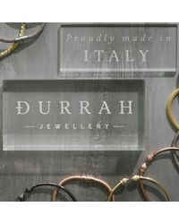 Durrah Jewelry | Metallic Gold Cylinder Bangle | Lyst