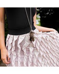 Tiana Jewel - Metallic Purity Smokey Necklace Siena Collection - Lyst