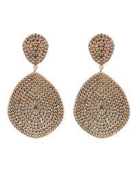 Latelita London - Metallic Monte Carlo Earring Rosegold Champagne - Lyst