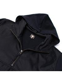 Pretty Green - Black Overhead Hooded Sweatshirt for Men - Lyst