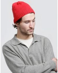 Wool And The Gang | Red Jacques Hat for Men | Lyst