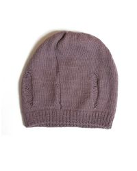Wool And The Gang | Purple Beanie Unplugged | Lyst