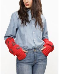 Wool And The Gang | Red Mighty Sleeves | Lyst