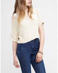 Wool And The Gang | White Mary Sweater | Lyst