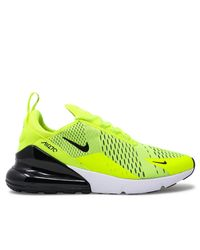 timeless design 6e73f 55442 Men s Yellow Air Max 270